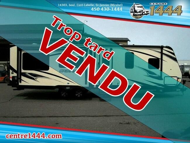 2018 SportTrek 312VRK - * VENDU * - 2 extensions au centre