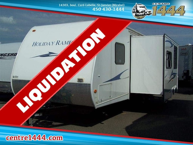 2011 HOLIDAY Campmaster 28RTS - * PROMO 18,996$ * - Cuisine extérieure