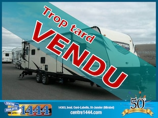2017 SportTrek 282VRL - * VENDU * SALON ARRIÈRE