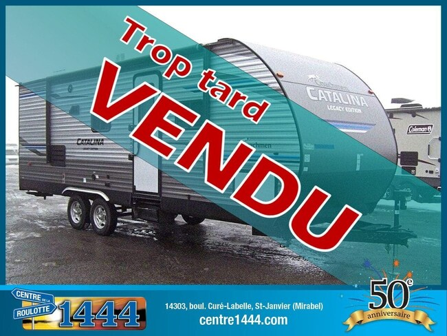 2020 CATALINA Legacy 243RBS * VENDU * - Extension double
