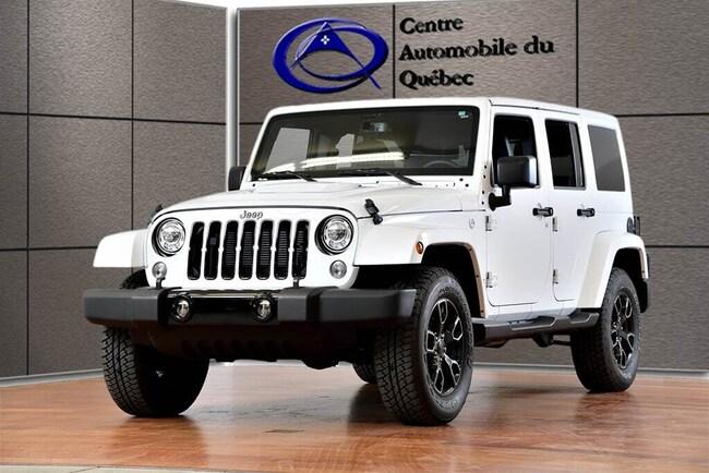 2018 Jeep Wrangler JK Unlimited ALTITUDE 4X4 CUIR NAV HITCH FREEDOMTOP 136$/SEM+TX SUV