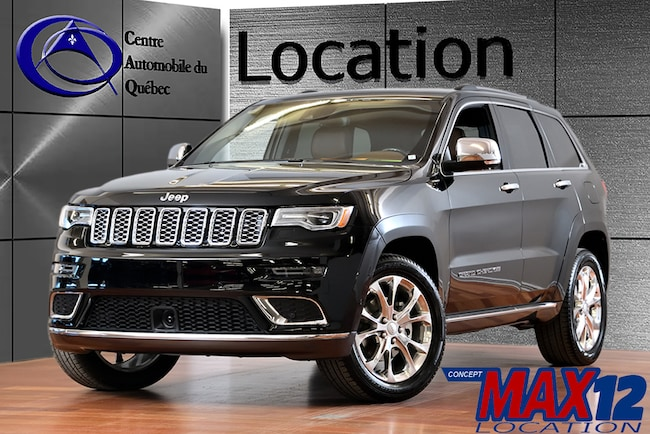 2019 Jeep Grand Cherokee Summit CUIR TOIT NAV ENS TECHNO LOCATION SUV