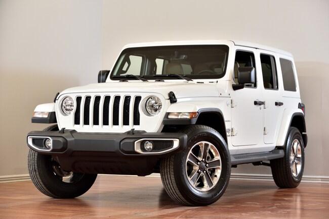 2018 Jeep WRANGLER UNLIMITED Unlimited Sahara CUIR NAV COLORMATCH 153$/SEM+TX SUV