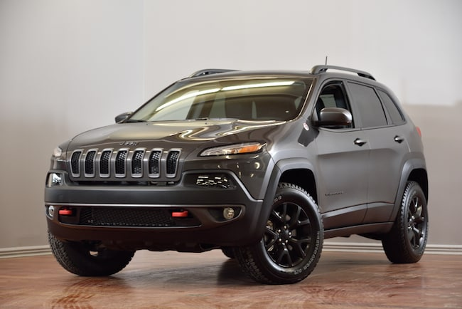 2018 Jeep Cherokee Trailhawk L PLUS V6 4X4 CUIR TOIT PANO NAV VUS