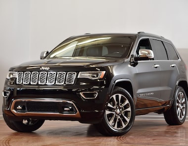 2018 Jeep Grand Cherokee Overland CUIR TOIT-PANO NAV VUS