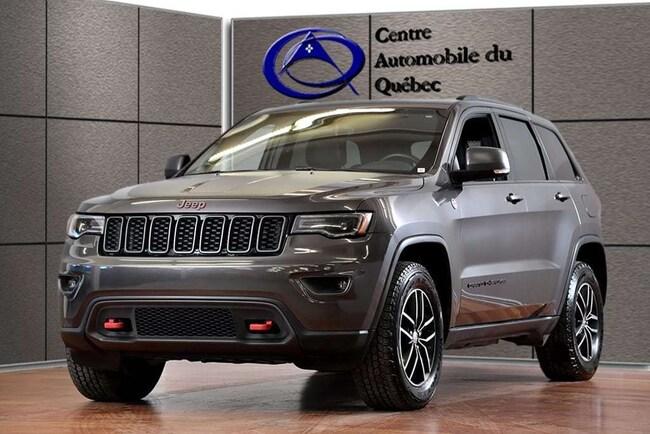 2018 Jeep Grand Cherokee Trailhawk 4X4 CUIR TOIT-PANO NAV HITCH 148$/SEM+TX SUV