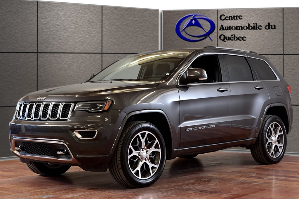 ... 2018 Jeep Grand Cherokee Limited STERLING CUIR TOIT PANO NAV HITCH SUV  ...