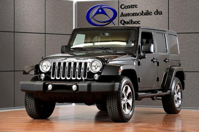 2017 Jeep WRANGLER UNLIMITED Sahara CUIR NAV ALPINE BLUETOOTH SUV