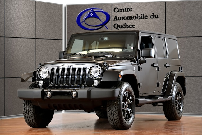 2018 Jeep Wrangler JK ALTITUDE 4X4 CUIR NAV HITCH FREEDOMTOP SUV