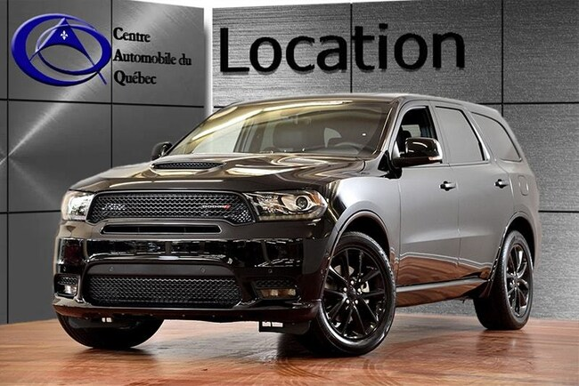 2019 Dodge Durango R/T V8 HEMI CUIR TOIT NAV HITCH LOCATION SUV
