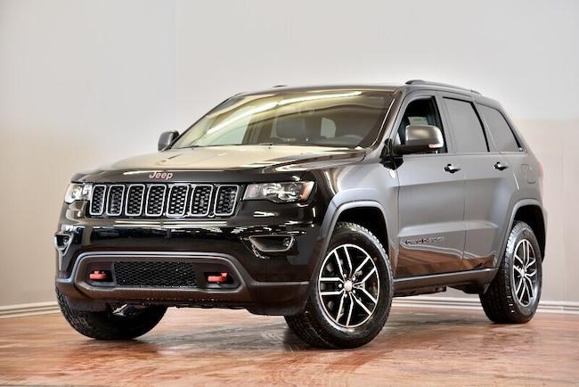 2019 Jeep Grand Cherokee Trailhawk 4X4 CUIR TOIT-PANO NAV HITCH 153$/SEM+TX SUV