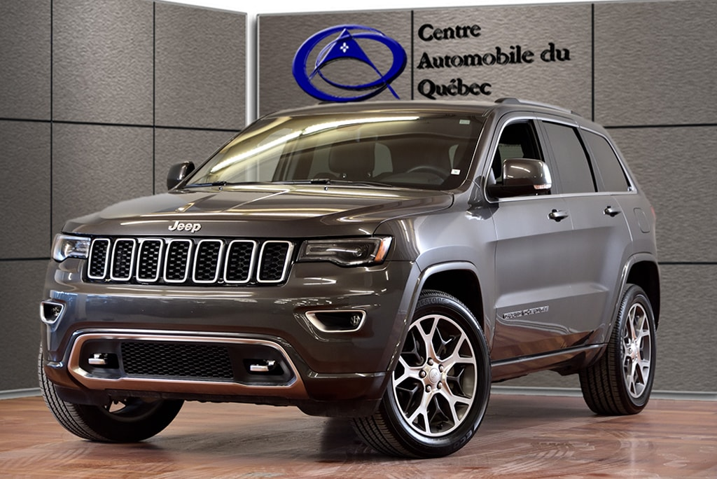 2018 Jeep Grand Cherokee Limited STERLING CUIR TOIT PANO NAV HITCH SUV