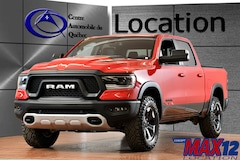2019 Ram 1500 Rebel 4X4 CREW NAV 8.4'' TOUCH V8 DE 5.7L MAGS Truck Crew Cab