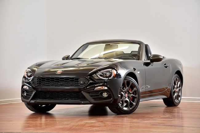 2017 Fiat 124 Spider Abarth LUXURY CUIR NAV BREMBO Convertible