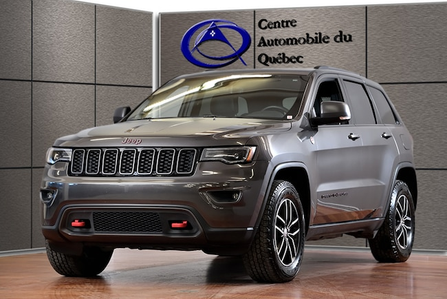 2019 Jeep Grand Cherokee Trailhawk 4X4 CUIR TOIT NAV HITCH VUS
