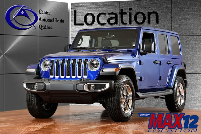 2019 Jeep WRANGLER UNLIMITED Sahara CUIR NAV COLORMATCH 8.4'' TOUCH SUV