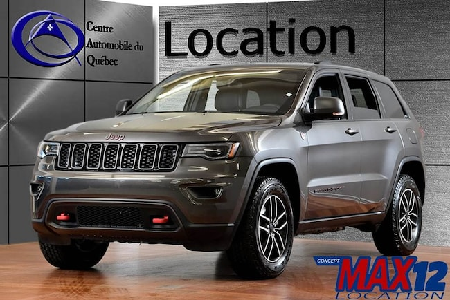 2019 Jeep Grand Cherokee Trailhawk 4X4 CUIR TOIT NAV HITCH LOCATION SUV