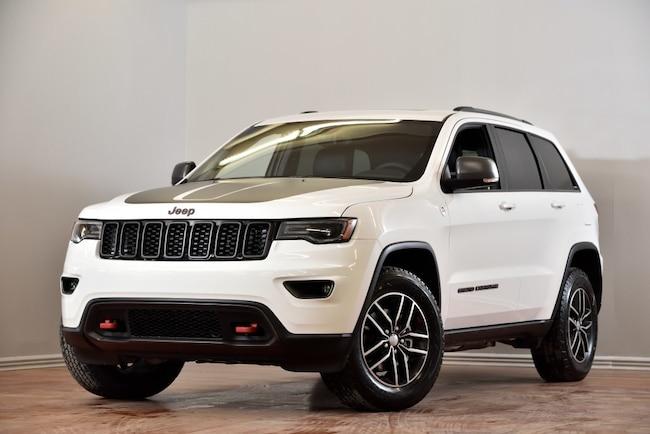 2018 Jeep Grand Cherokee Trailhawk 4X4 CUIR TOIT-PANO NAV HITCH 147$/SEM+TX SUV