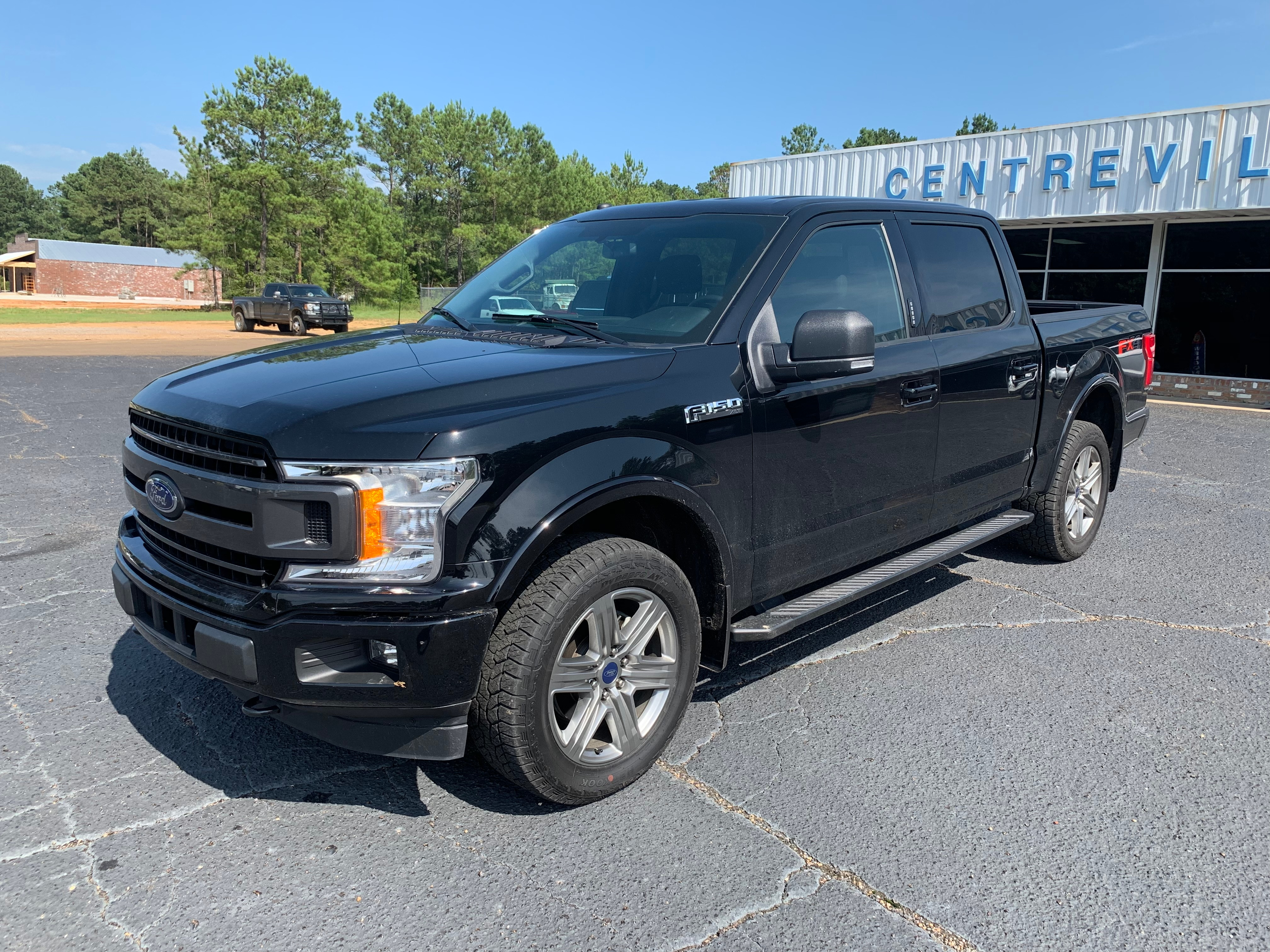 2018 Ford F-150 XLT Sport Appearance pckg  Crew Cab