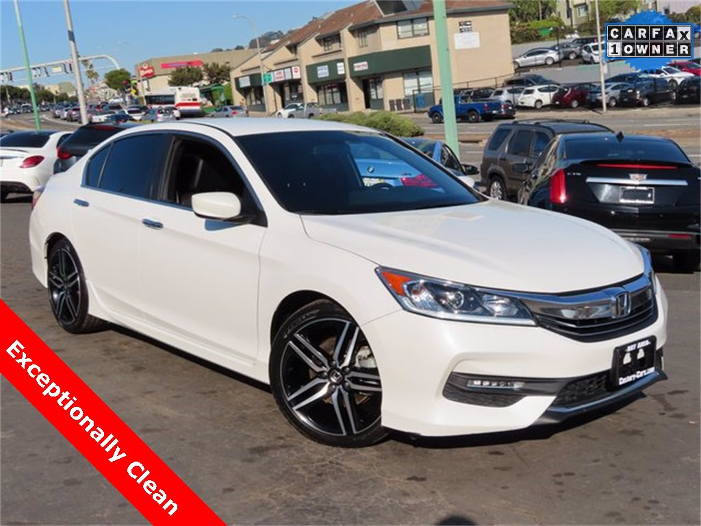 Used Honda Accord Sedan Daly City Ca
