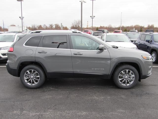 New 2019 Sting-Gray Jeep Cherokee LATITUDE PLUS 4X4 For Sale