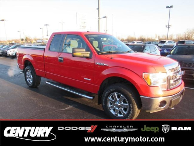 2013 Ford F-150 4WD Supercab 145 XLT Truck
