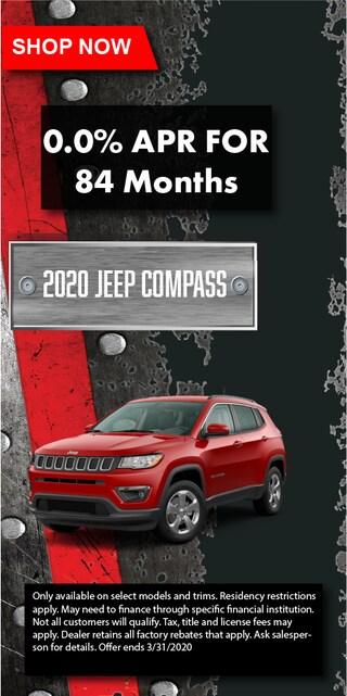 2020 Jeep Compass 0%
