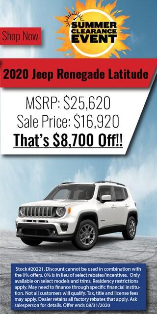 2020 Jeep Renegade Lat