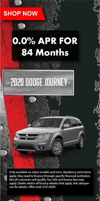 2020 Dodge Journey 0%