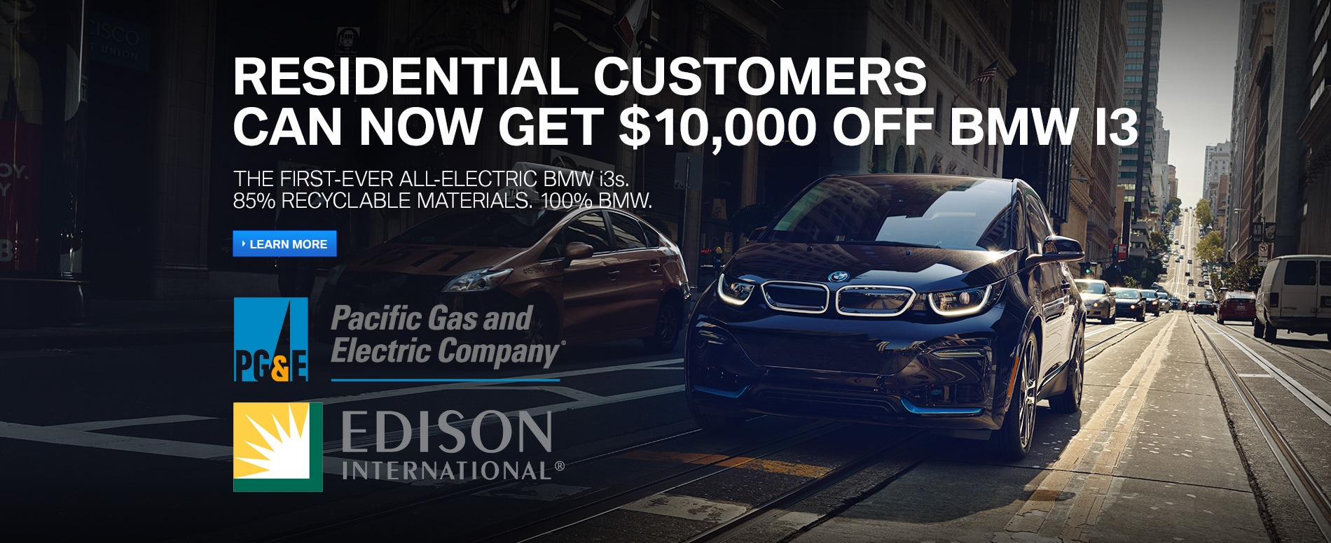 Bmw I3 Incentives In Studio City Near Beverly Hills