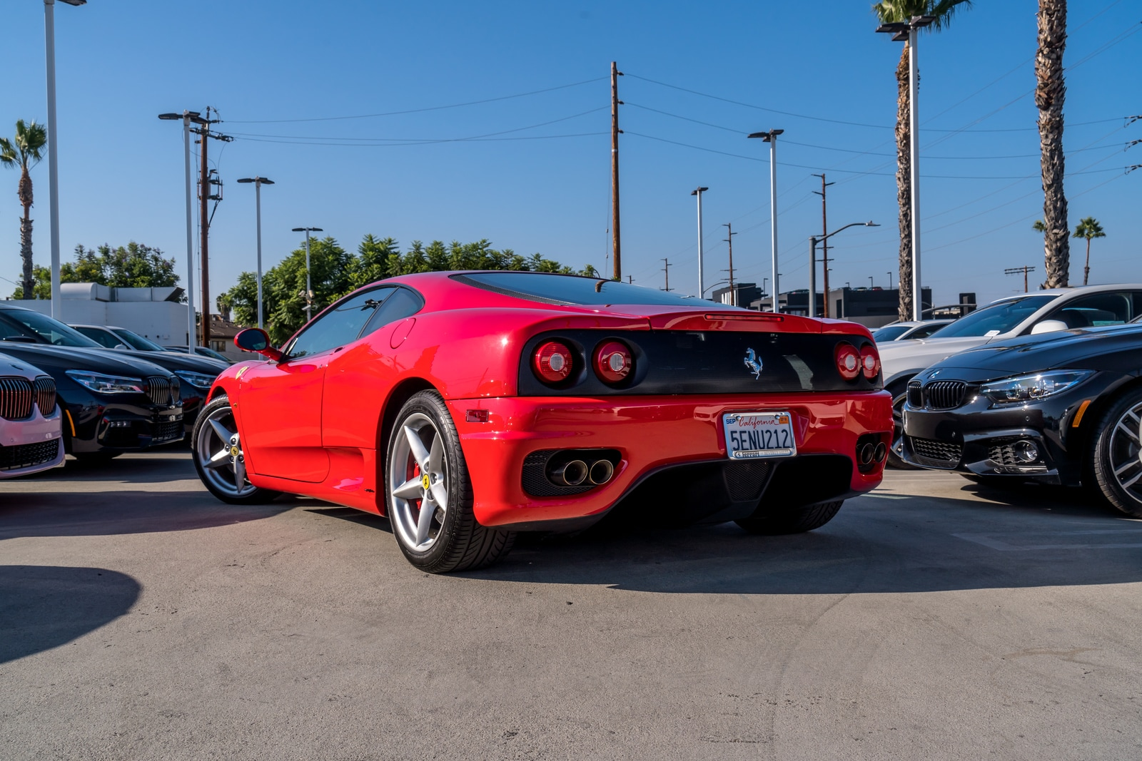 Beautiful ... Used 2003 Ferrari 360 Modena Coupe Los Angeles ...