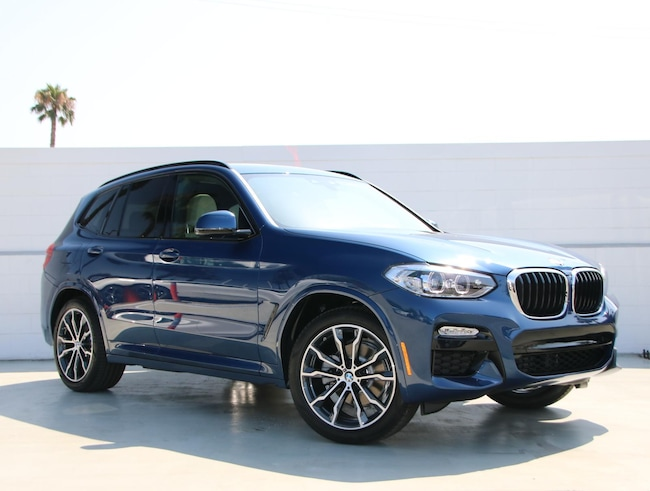 New 2019 Bmw X3 Sdrive30i Sports Activity Vehicle For Sale Near Los