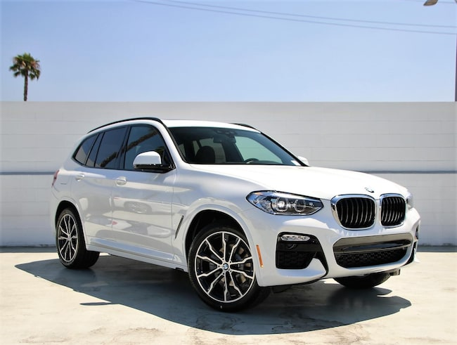 New 2019 BMW X3 SDrive30i Sports Activity Vehicle SAV Los Angeles