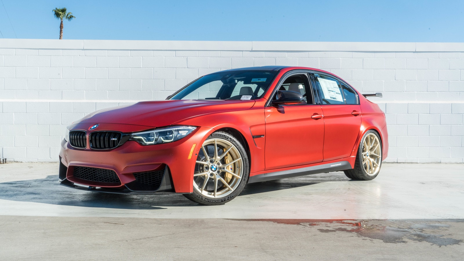 2018 BMW M3 Sedan Sedan