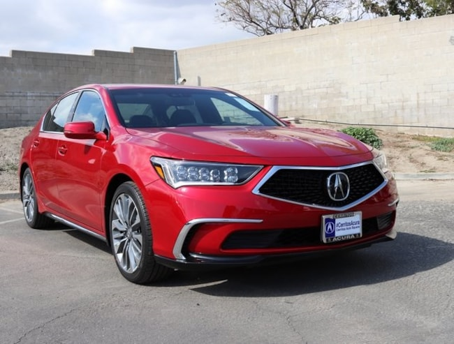 New 2018 Acura RLX with Technology Package Sedan in Cerritos