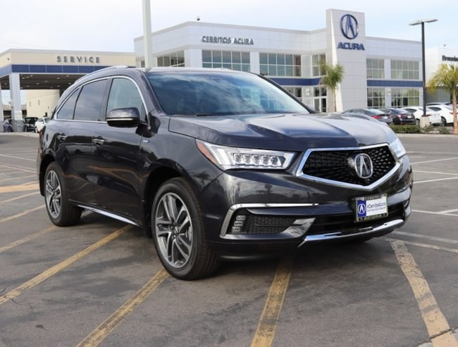 New 2019 Acura MDX Sport Hybrid SH-AWD with Advance Package SUV For Sale/Lease Cerritos CA
