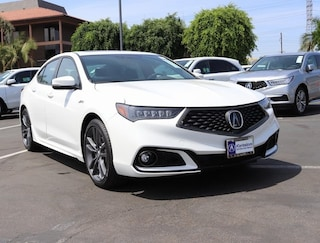 New 2019 Acura TLX 3.5 V-6 9-AT P-AWS with A-SPEC Sedan 19UUB2F68KA002449 Cerritos