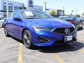 New 2019 Acura ILX with Premium and A-Spec Package Sedan Cerritos