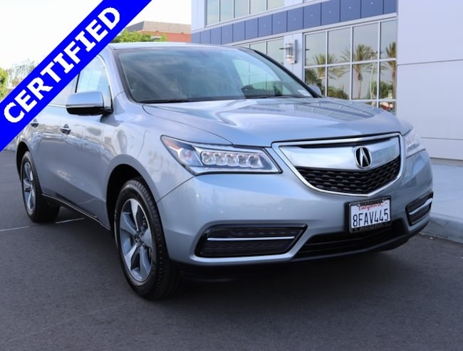 Used 2016 Acura MDX 3.5L SUV for sale in Cerritos, CA
