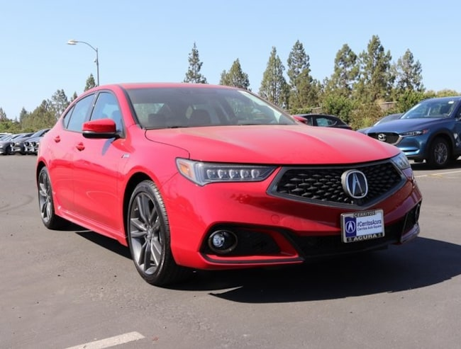 New 2019 Acura TLX 2.4 8-DCT P-AWS with A-SPEC Sedan For Sale/Lease Cerritos CA