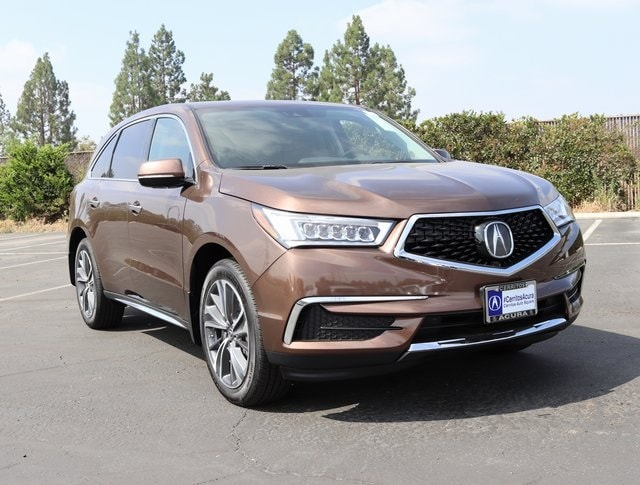 2019 Acura MDX SH-AWD with Technology and Entertainment Packages SUV
