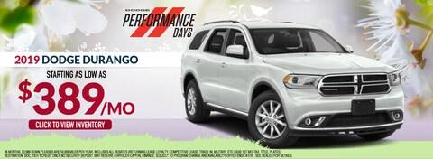 2019 Dodge Durango Lease Special