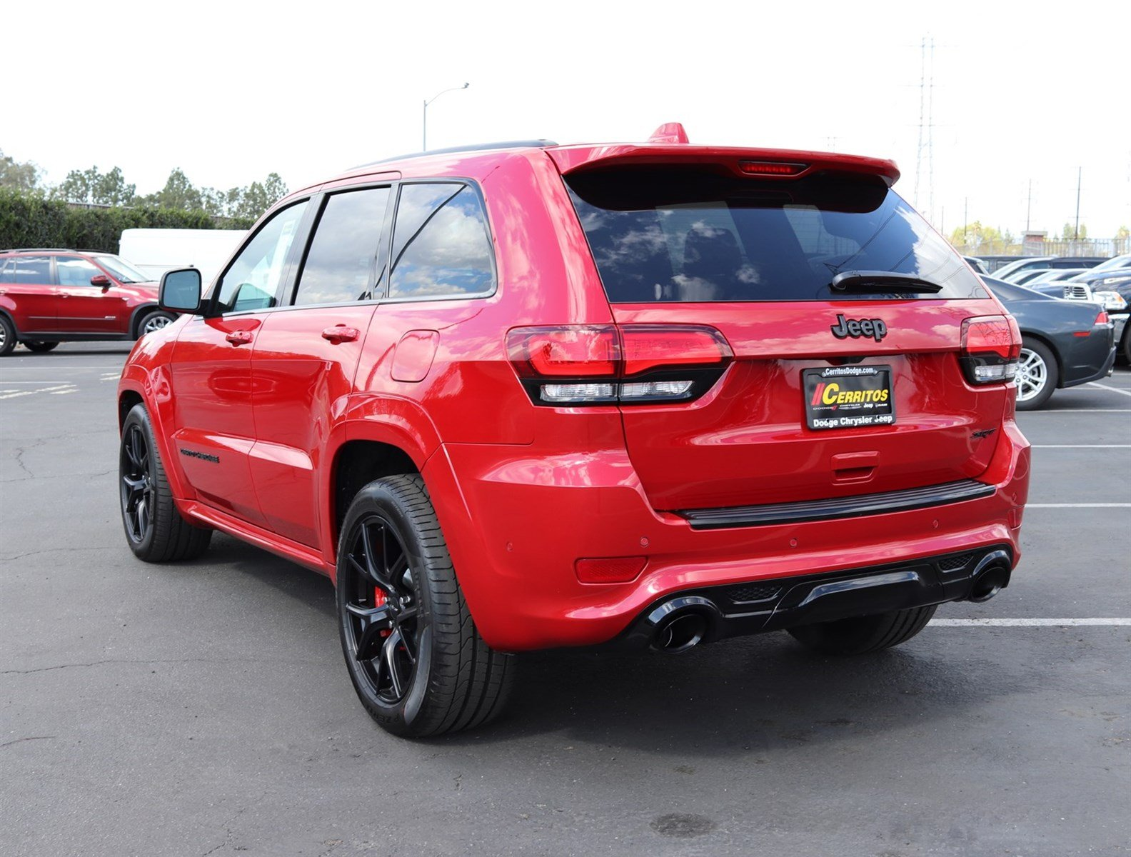 ... 2018 Jeep Grand Cherokee SRT 4x4 SUV ...