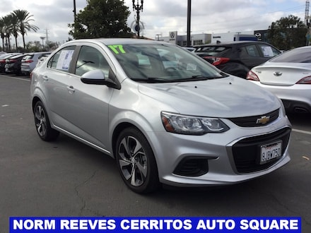 2017 Chevrolet Sonic Premier Sedan