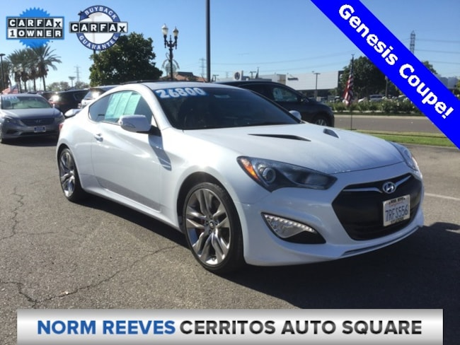 2016 Hyundai Genesis Coupe 3.8 Ultimate Coupe
