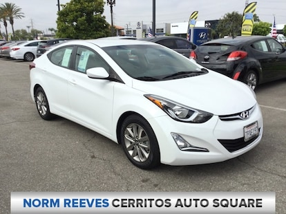 Used 2016 Hyundai Elantra For Sale at Norm Reeves
