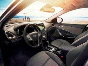 2018 Hyundai Santa Fe Sport Interior: Dimensions