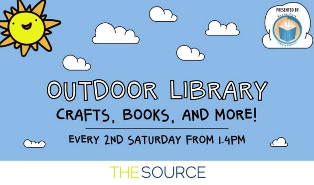 The Source OC Outdoor Library