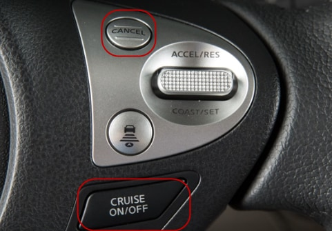 turning off Nissan cruise control