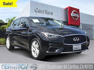 2018 INFINITI QX30 Luxury SUV